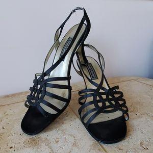 Jennifer Moore Strappy Dress Sandals w/heel